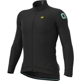 Alé Cycling Klimatik Klima Winter Jersey Heren, black